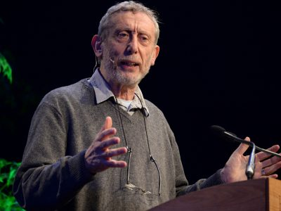 Reflections on Grief, Language and Speaking to Children with MIchael Rosen